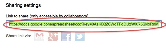How to embed a live Google Docs spreadsheet into a webpage