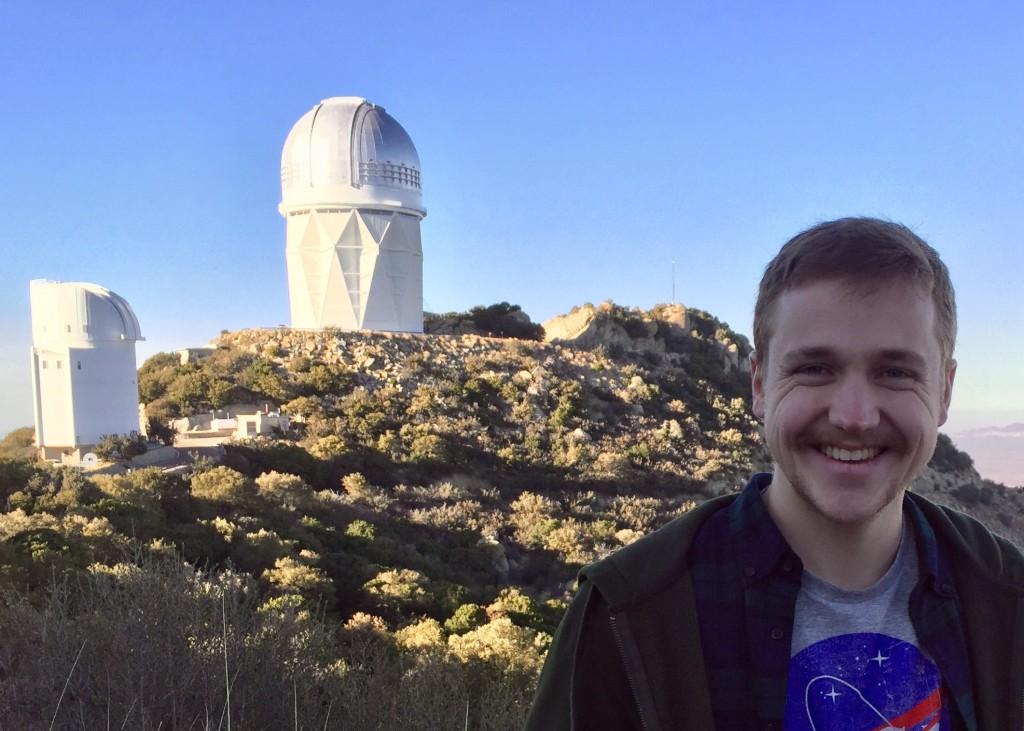 Mark Popinchalk at Kitt Peak.